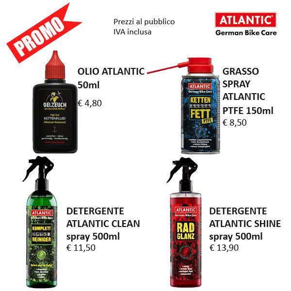 Detergenti e lubrificanti Atlantic Oil